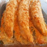 Creamy Parmesan-Crusted Turkey Tenderloins
